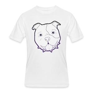 Pit Tee Outline alt. - Men's 50/50 T-Shirt