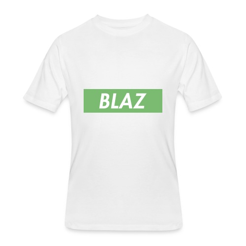 BLAZ LOGO - Men's 50/50 T-Shirt
