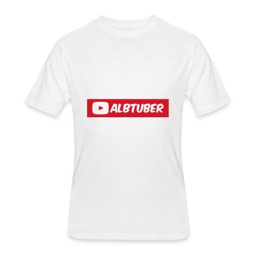 AlbTuber Logo - Men's 50/50 T-Shirt