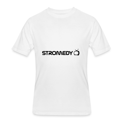 White Stromedy T-Shirt - Men's 50/50 T-Shirt