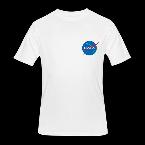 Gaia Nasa Logo - Men's 50/50 T-Shirt