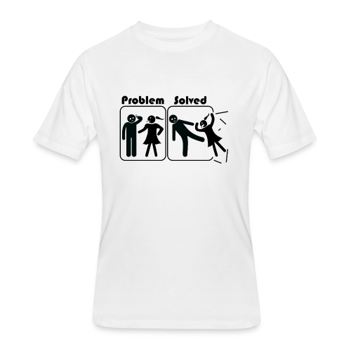 Problem Solving - Men's 50/50 T-Shirt