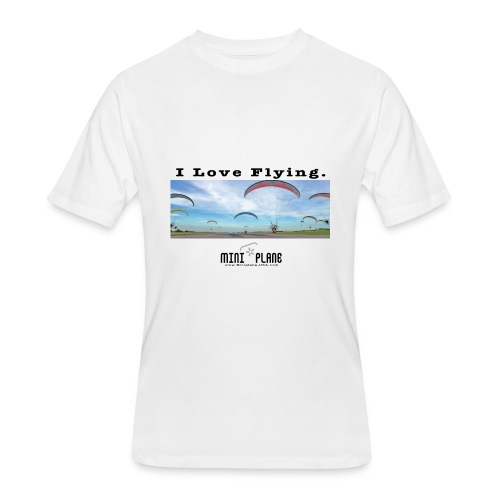 i love flying1 - Men's 50/50 T-Shirt