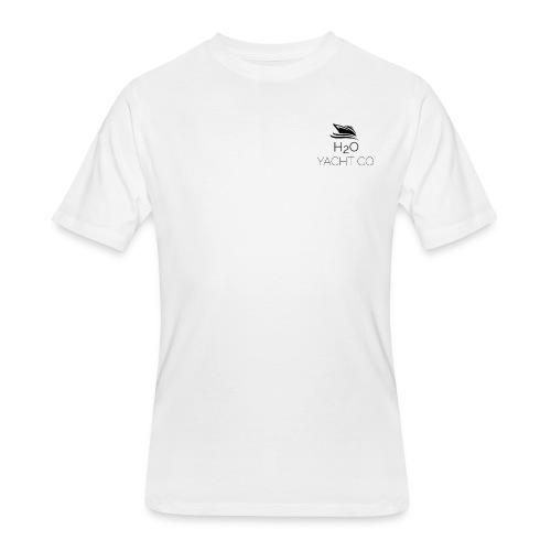 H2O Yacht Co. Black - Men's 50/50 T-Shirt