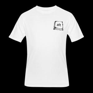 Logo Key - Men's 50/50 T-Shirt