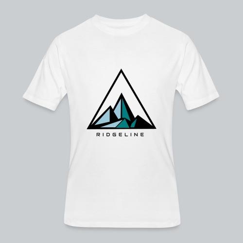 ridgeline aqua - Men's 50/50 T-Shirt