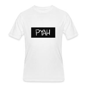 PYAH Box Logo - Men's 50/50 T-Shirt