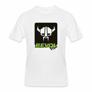 RevolRC Viking White on Black - Men's 50/50 T-Shirt