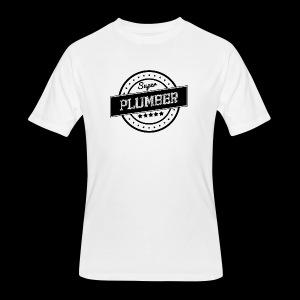 Super Plumber - Men's 50/50 T-Shirt