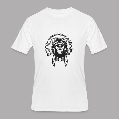 indian design (diseño de indio) - Men's 50/50 T-Shirt