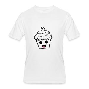 Happy Cupcakes - Men's 50/50 T-Shirt