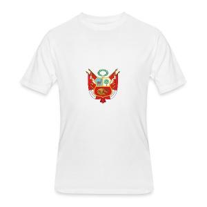 Nuevo Escudo Peruano 1 - Men's 50/50 T-Shirt