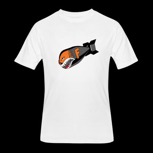 F Bomb - Men's 50/50 T-Shirt