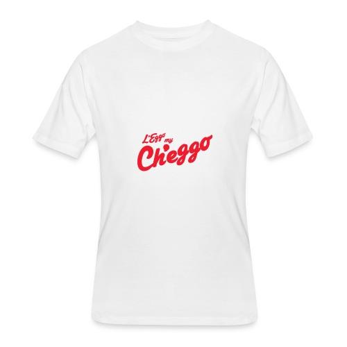 L'Eggo my Ch'eggo TShirt *LIMITED TIME ONLY* - Men's 50/50 T-Shirt