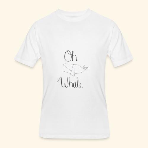 Oh whale - Men's 50/50 T-Shirt