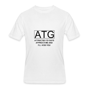 ATG Attracted to gays - Men's 50/50 T-Shirt