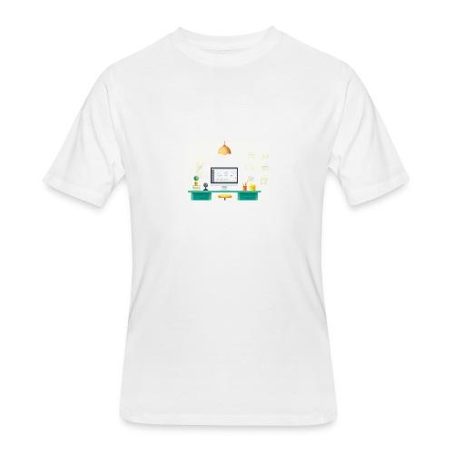 workspace - Men's 50/50 T-Shirt