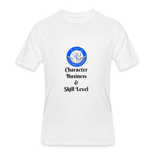 SB Seal Design - Men's 50/50 T-Shirt