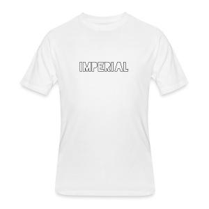 Plain Imperial Logo - Men's 50/50 T-Shirt
