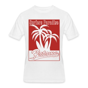 Patame Surfers Paradise Red - Men's 50/50 T-Shirt