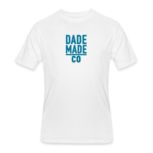 dademadelogoaqua - Men's 50/50 T-Shirt