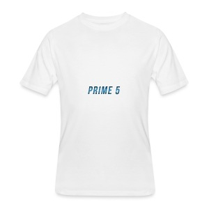 Prime 5 Text Logo - Men's 50/50 T-Shirt