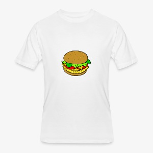 Comic Burger - Men's 50/50 T-Shirt