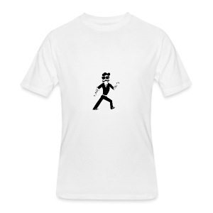 The Famous Mr Warrior - Men's 50/50 T-Shirt