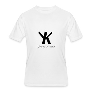Young Kevino Official Logo (Black) - Men's 50/50 T-Shirt