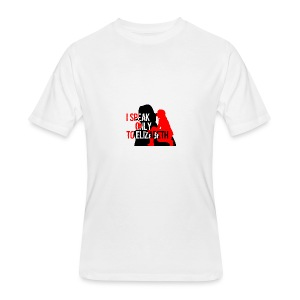 I speak only to Elizabeth : the blacklist tees - Men's 50/50 T-Shirt