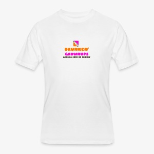 DRUNKEN GROWNUPS - Men's 50/50 T-Shirt