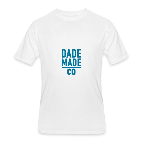 dademadelogoaqua - Men's 50/50 T-Shirt