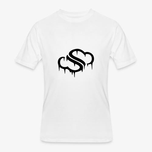 Dripping Cloud - Men's 50/50 T-Shirt