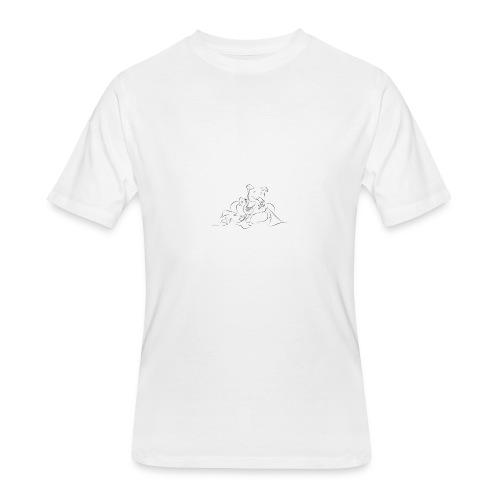 shri ganesh - Men's 50/50 T-Shirt