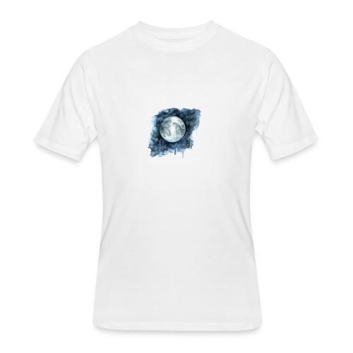 Watercolor Nights - Men's 50/50 T-Shirt