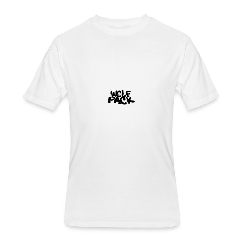 WolfPack Paw Logo - Men's 50/50 T-Shirt