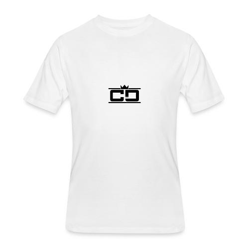CD (King Design) - Men's 50/50 T-Shirt