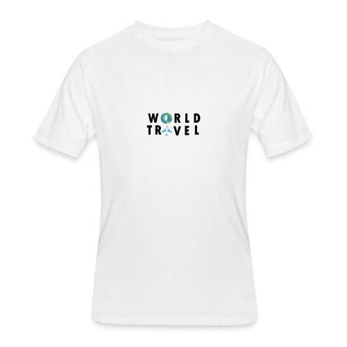 World Travel Design - Men's 50/50 T-Shirt