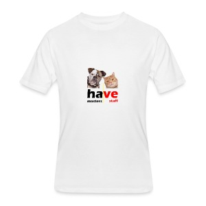 Dog & Cat - Men's 50/50 T-Shirt