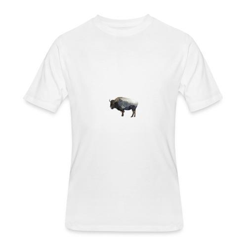 Buffalo Design - Men's 50/50 T-Shirt