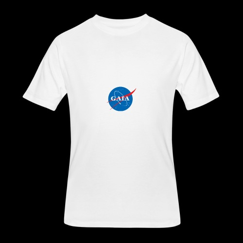 Gaia Nasa Logo - Men's 50/50 T-Shirt