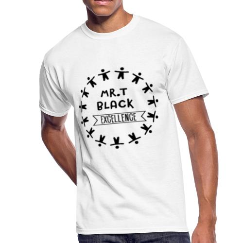 Mr.Travon Black Excellence - Men's 50/50 T-Shirt