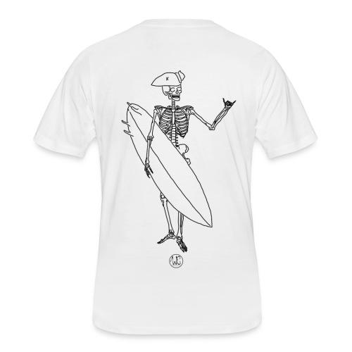 Skelly surfer - Men's 50/50 T-Shirt