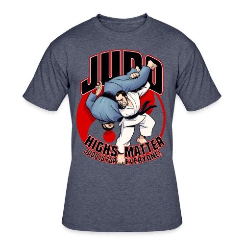 Judo Highs Matter - Men's 50/50 T-Shirt