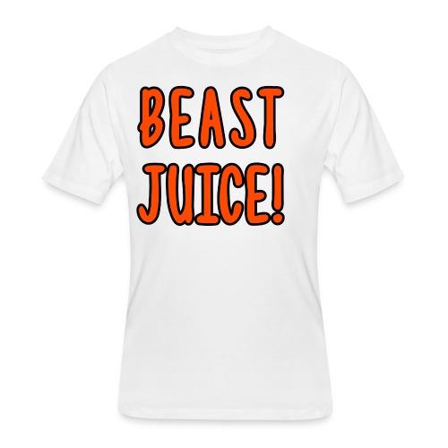 BEAST JUICE! - Men's 50/50 T-Shirt