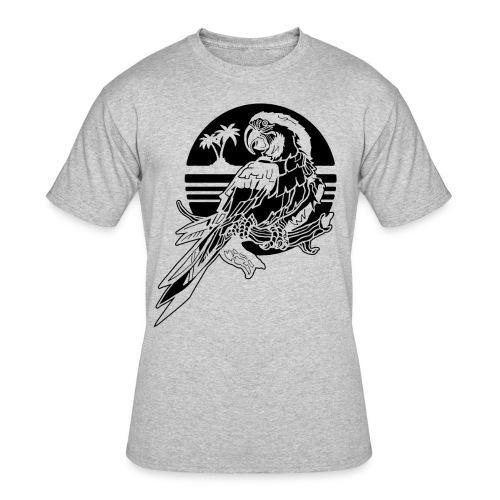 Tropical Parrot - Men's 50/50 T-Shirt