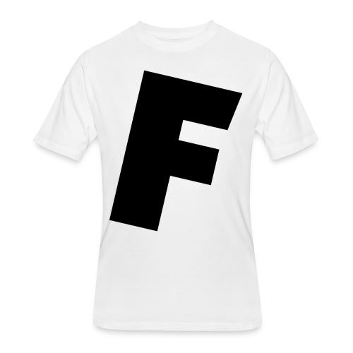 F slanted - Men's 50/50 T-Shirt