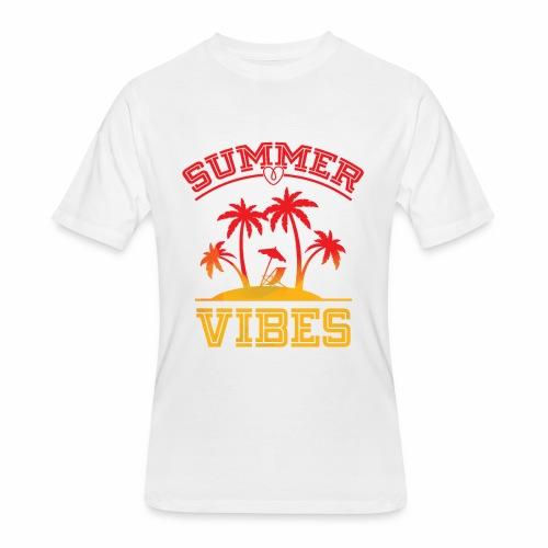Summer Vibes - Men's 50/50 T-Shirt