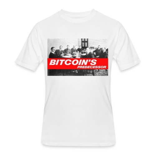 Bitcoin's Predecessor - Men's 50/50 T-Shirt