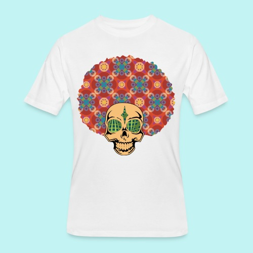 MACK DADDY SKULLY - Men's 50/50 T-Shirt